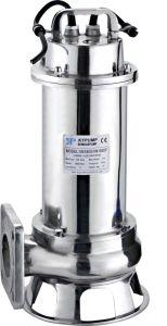 1.8Kw des eaux usées de la pompe en acier inoxydable