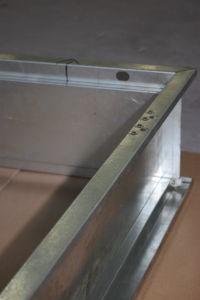 Prueba de balas de gama alta de la seguridad exterior de acero puerta de metal