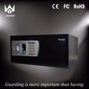 schwarzer Hotel-43ED/sicherer Ausgangskasten mit Schlüssel des Digital-Verschluss-+Rotary Knob+Emergency