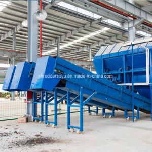 Triturador de metal de resíduos