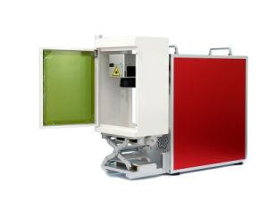 小さい盾のファイバーレーザーの彫版機械との携帯用赤