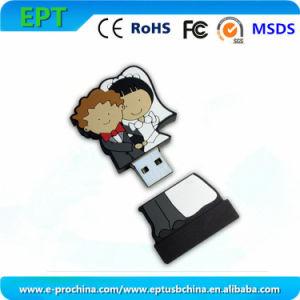Индивидуальный логотип Bridegroom форму флэш-накопитель USB (EG623)