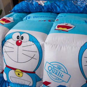 Venda por preço barato Home Bed Consolador Define/Colcha de microfibras de poliéster e edredon