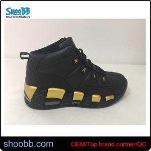 Venta caliente ligero y sencillo de baloncesto superior de alta Zapatillas deportivas zapatillas para hombres