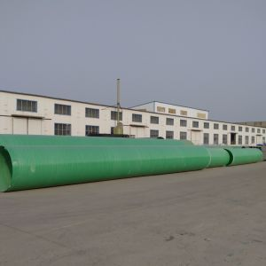 FRP GRPの廃水の管