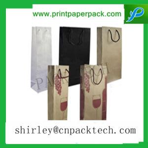 カスタマイズされた型の長方形のワイン・ボトル包装袋