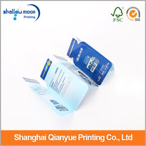 La impresión personalizada brillante papel de estraza Flyer (QYCI038)