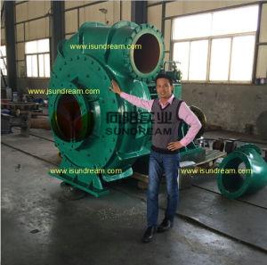 Lamas de dragagem Hrizontal mineiro da bomba de chorume de cascalho com certificação ISO9001