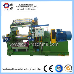 Резиновые мельницы заслонки смешения воздушных потоков 400/450/560 мелиорированных резиновые Plant / Резиновые Kneader машины