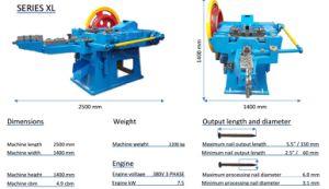 De volledige Automatische Eenvoudige Werkende Spijker die van de Schroef Machine maken