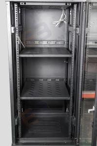 Коммерческого типа из прозрачного стекла передней двери шкафа электроавтоматики сети