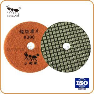 Sec de qualité Super-Wet Diamond Polishing Pads de pierres béton