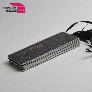 Un papier parchemin personnalisé Hang Tag/Papier calque transparent de couleur des balises de pivotement