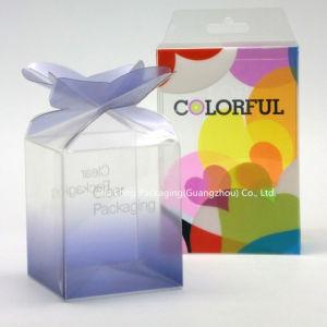 香水包装ボックス小さいギフト用の箱のためのPVCペット透過ボックス