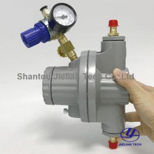Una forma de cola neumática de la bomba de aire con válvula reguladora de presión para la máquina de impresión