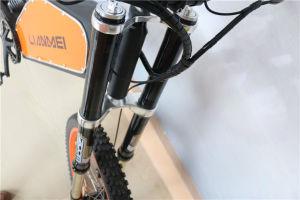 普及した安い下り坂の電気自転車