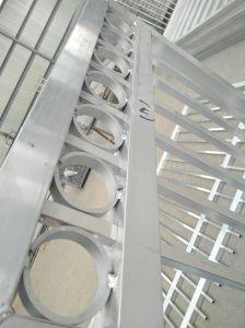 Valla de seguridad de aluminio / Jardín de Esgrima /Paneles valla