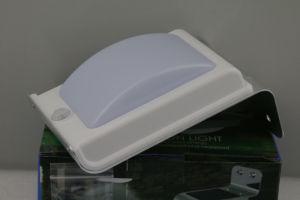 weiße Straßen-Solarportal-Wand-Licht des 1W Umweltschutz-LED