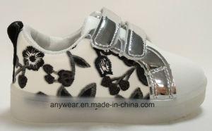 Los niños Deportes zapatos de iluminación con LED de luz de pared a los niños calzado zapatillas (624)