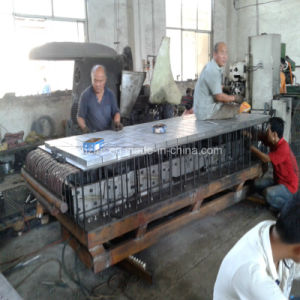 Máquina de grelha de plástico reforçado com fibra de vidro moldado equipamentos da linha de grade