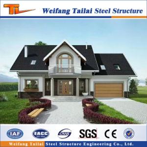 Prefabricate la construcción de casas Edificio de estructura de acero