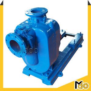 Centrifuge à amorçage automatique horizontale de la pompe à eau