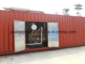 Conteneur Power Plant 1250kVA Groupe électrogène Diesel avec moteur Cummins Kta50-G3