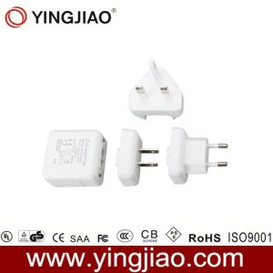 6W Linear Variable Power Adapter con CE