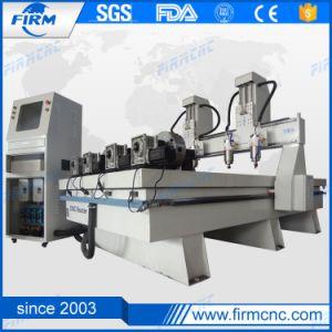 Carpintería Four-Spindles grabado Corte mecanizado CNC