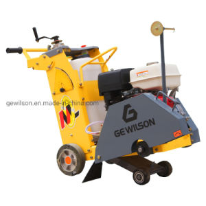 L'asphalte diesel routier de la faucheuse au sol en béton Machine de Construction de scie