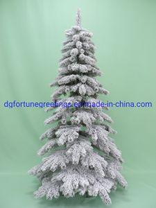 4b29fe11978 7FT Decoración de Navidad Artificial árbol regalo PVC afelpada