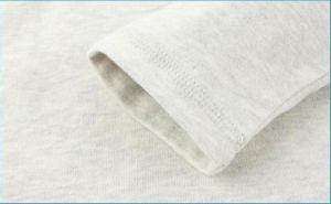 Les garçons Stripe Coton T-shirt col rond plaine enfants Sweat-Shirt Long Sleeve Couleur solide Pull