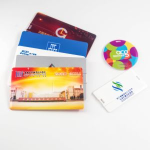 2019 Mais Novo Cartão de Crédito de Shenzhen de alta qualidade stick USB com 4 GB de memória móvel Preço Cartão disco flash USB com impressão de logotipo