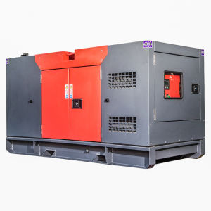 gruppo elettrogeno diesel raffreddato aria a basso rumore del motore diesel 100kw/125kVA Genset Shangchai 6135ad