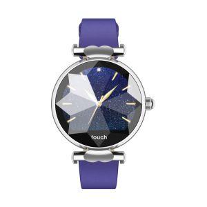 Lo schermo IP67 di colore del braccialetto B80 1.04 femminile  IPS della decorazione impermeabilizza i braccialetti astuti della fucilazione