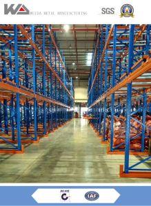 Nave industrial del acero P235 de almacenamiento intensivo Puerta Palete Fabricación