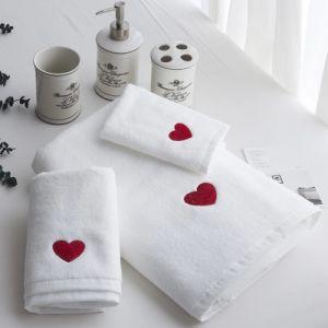 100綿のロゴ(JRAC032)のギフトタオルのための小さい表面タオル小さいタオルの記念品