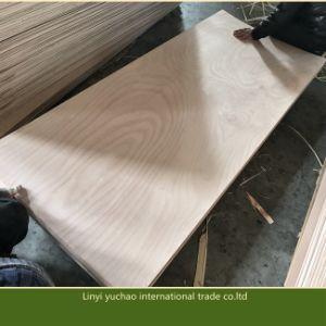 915X2135X3.6mm contrachapado de madera contrachapada de tamaño de la puerta Okoume Bintangor contrachapado para el uso de la puerta