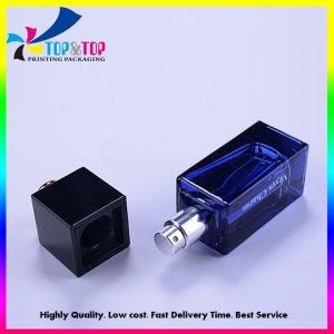 Commerce de gros carrés clair de pulvérisation de la pompe de parfum Bouteille de verre Jar/conteneur