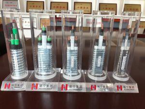 3*16 mm² 3KV aislada de goma de etileno propileno interior Cable de acero revestido de enclavamiento de cinta plana blindados Cable de alimentación de la bomba de aceite sumergible eléctrica