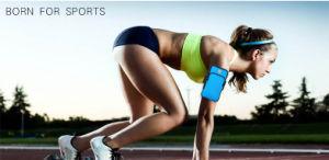 O logotipo personalizado fita desportiva para o braço de funcionamento melhor à prova de Bolsa de banda