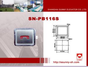 Höhenruder Parts Push Button für Mitsubishi (SN-PB116S)