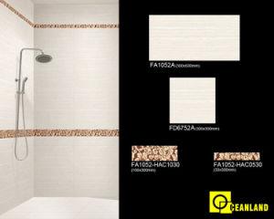 De zuivere Kleur verglaasde de Ceramische Tegel van de Muur voor de Badkamers van de Keuken