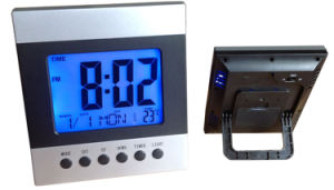 大きいスクリーンLCDの時計(K2118)