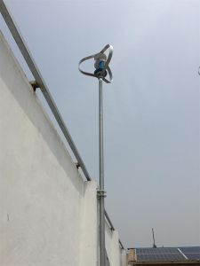 100W 200W 300W 500W de Verticale Turbine van de Wind van de As, Hoge Efficiency, wind-Zonne Hybride Systeem
