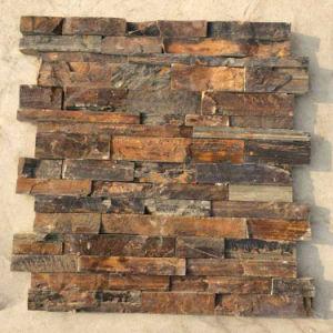 La Chine Rusty naturelles de l'Ardoise de panneaux muraux extérieurs (SMC-SCP457)
