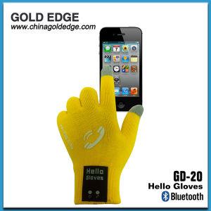 Bluetooth перчатки с мини-гнездо для наушников и динамиков полезна в зимнее время