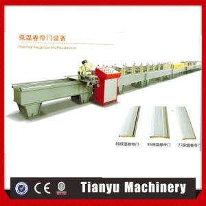 Le polyuréthane PU rouleau de porte de l'obturateur de lamelles en bois machine à profiler