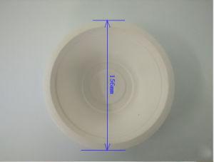 Biodegradáveis de louça de polpa de cana-de-500ml tigela Dinnerware