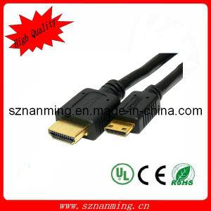 1.4V Mini HDMI a HDMI Cable M/M